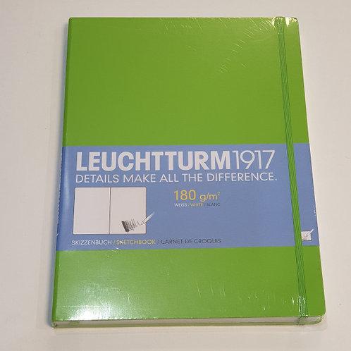 Leuchterm A4 Sketchbook 180gsm Fresh Green