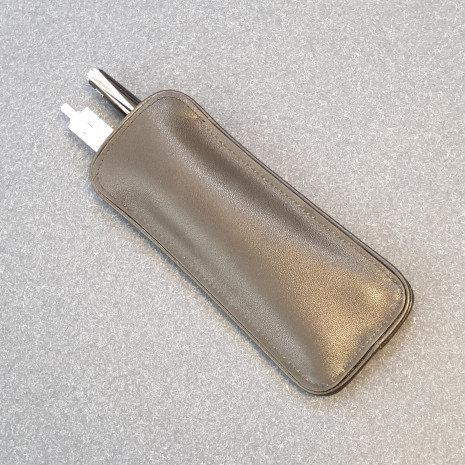 Lamy Twin Pencil Case Black Nappa Leather