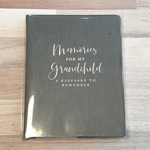 Peter Pauper Press Memories for My Grandchildren