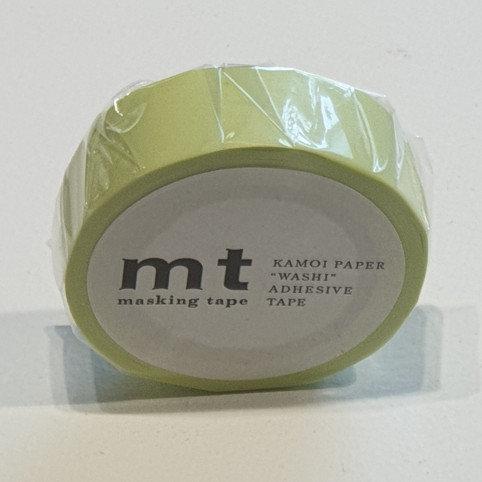 Masking Tape Pastel Lime