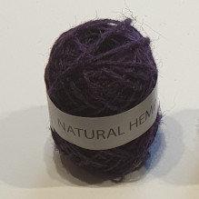 Natural Hemp 30m Purple