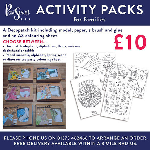 Activity Pack 1
