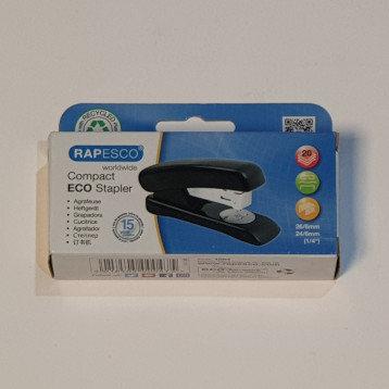 Rapesco Compact Eco Stapler 95% Recycled Plastic