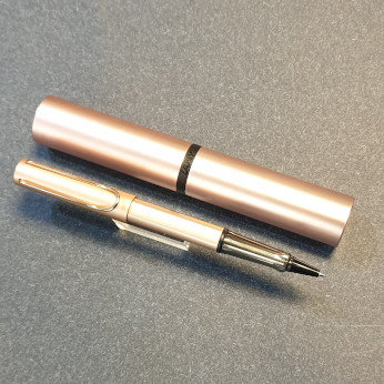 Lamy Lx Rollerball Pen Rose Gold