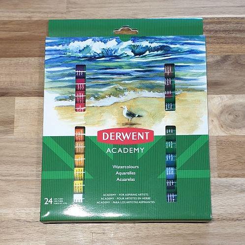 Derwent Academy Watercolours 24 Pk