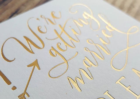 Postscript Frome Ready made wedding invitations