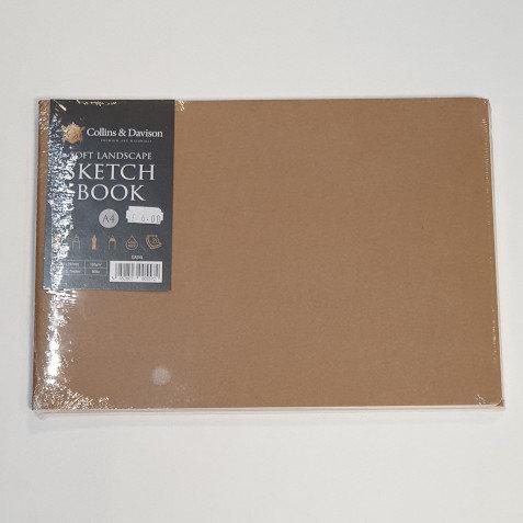 Collins & Davison Soft Landscape Sketch Book A4 Twin Pk