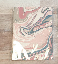 Papermirchi Marbled B6 Pink