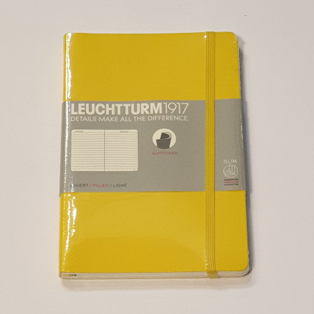 Leuchterm B5 Composition Notebook Softcover Lemon