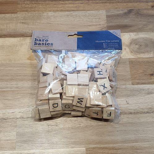 docrafts Wooden Tile Letters