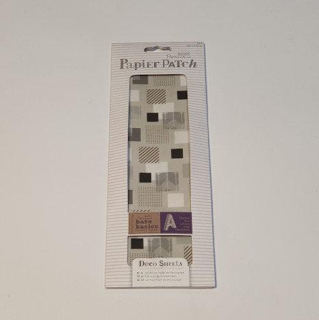 docrafts Papermania Papier Patch 3pcs