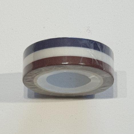 Washi Tape Blue, White & Brown