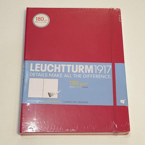 Leuchterm A4 Sketchbook 180gsm Red