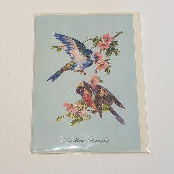 Blue Bird of Happiness Anthology Card
