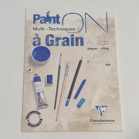 Paint On Multi-Technique A3 20 Sheets
