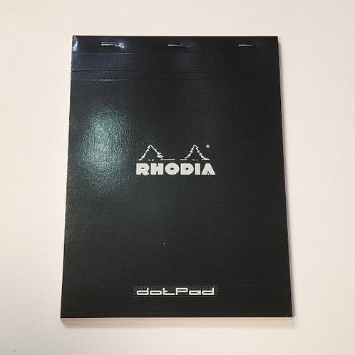 Rhodia Black Dotpad No18