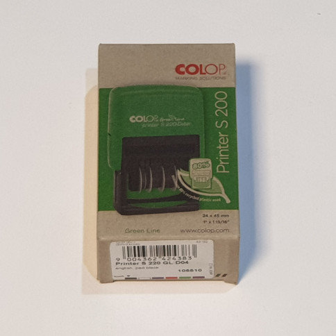 Colop Printer S 200 Self Inking Date Stamp