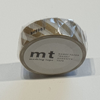 Masking Tape Stripe Gold 2