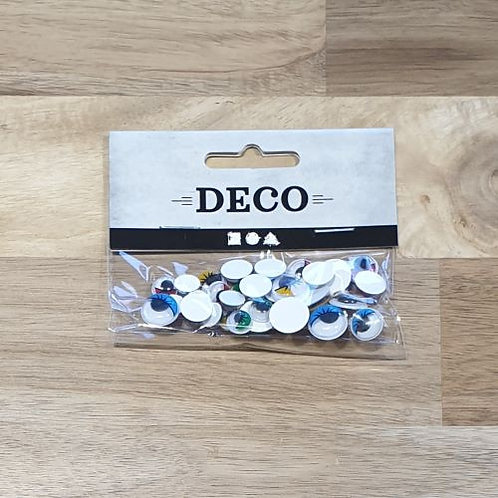 Deco Adhesive Eyes