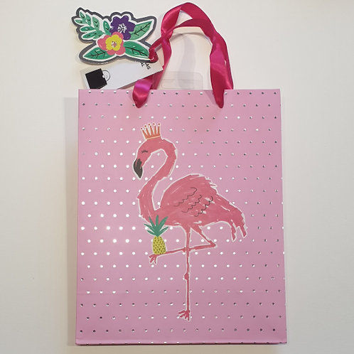 design group Gift Maker Celebrations Flamingo Gift Bag