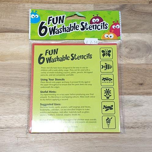 6 Fun Washable Stencils