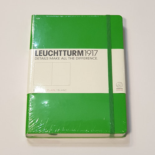 Leuchterm A5 Medium Notebook Hardback Fresh Green