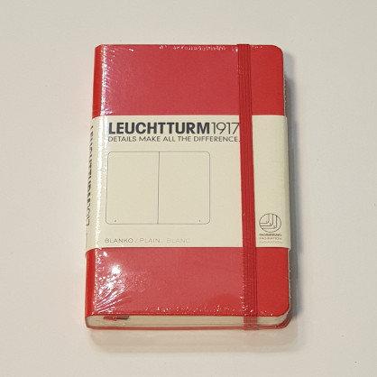 Leuchterm A6 Pocket Notebook Hardback Red