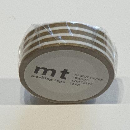 Masking Tape Border Gold 2