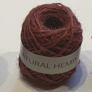 Natural Hemp 30m Brown