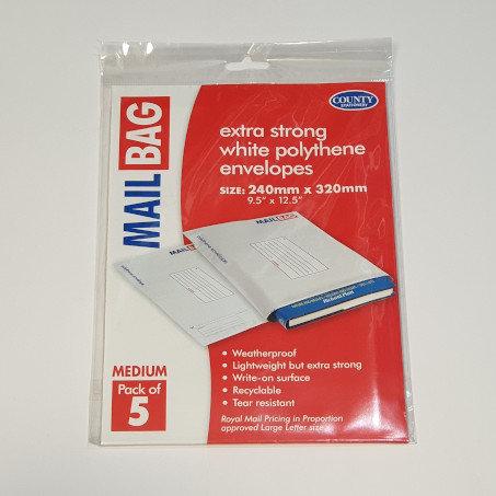 Mail Bag Medium 5 Pk