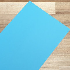 Smooth Coloured Card Blue A1 120gsm