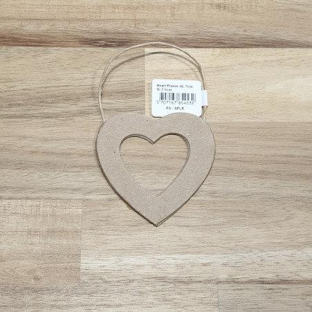 Heart Frame W-7cm H-7.5cm