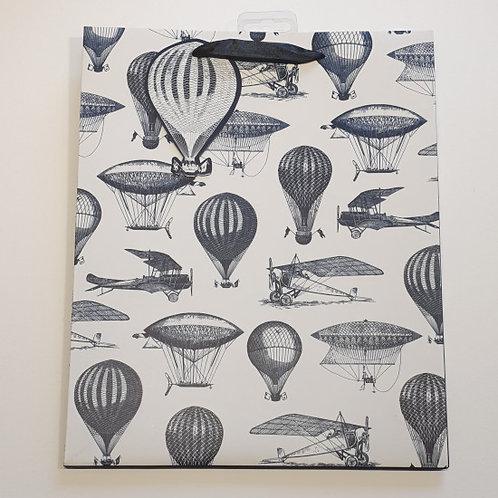 Paper World Aircrafts Gift Bag