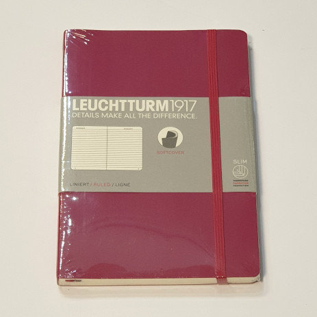 Leuchterm B5 Composition Notebook Softcover Port