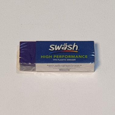Swash High Performance Plastic Eraser Purple