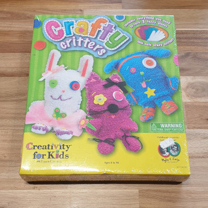 Creativity for Kids Crafty Critters