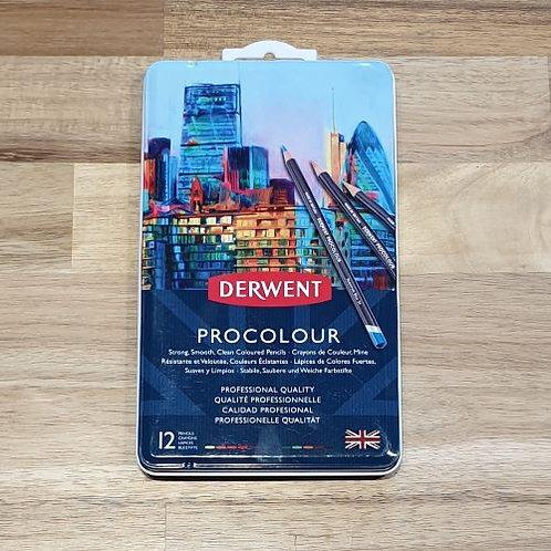 Derwent Procolour Pencil 12 Pk
