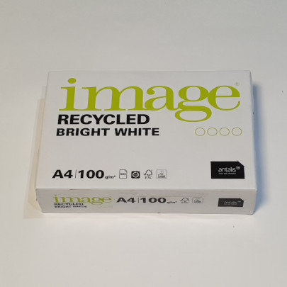 image Recycled Brilliant White A4 100gsm