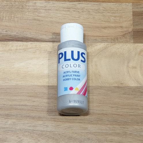 Plus Color Acrylic Paint Silver 60ml