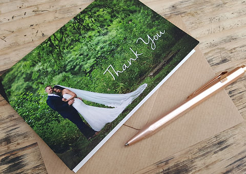 Postscript Frome Wedding Thankyou Cards