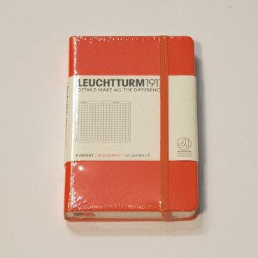 Leuchterm A6 Pocket Notebook Hardback Orange