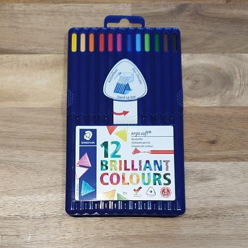 Staedtler Coloured Pencils 12 Brilliant Colours