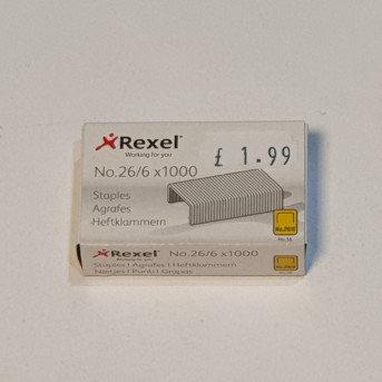 Rexel 1000 26-6 Staples