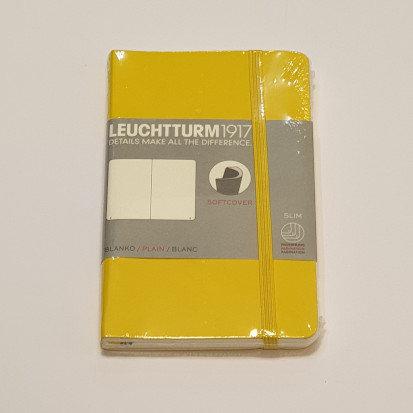 Leuchterm A6 Pocket Notebook Softcover Lemon