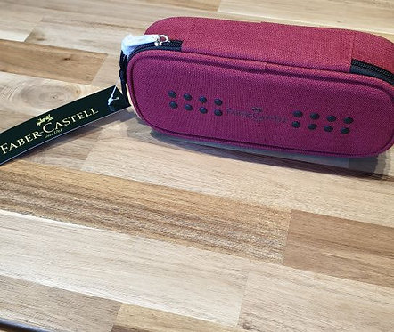 Faber-Castell Pencil Case Red Large