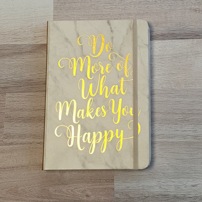 Peter Pauper Press Do More of What Makes You Happy Journal
