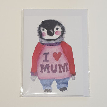 Rosie Webb I Love Mum Card