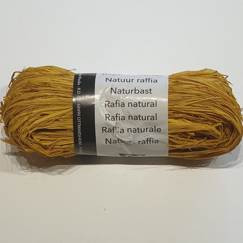 Clairefontaine Rhodia Natural Raffia 50g Yellow