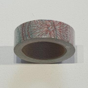 Washi Tape Multi-Coloured Circles