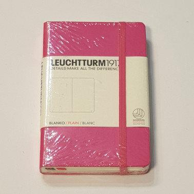 Leuchterm A6 Pocket Notebook Hardback New Pink